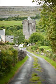 Newtown Castle, Ballyvaughan, County Clare, Ireland