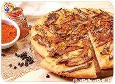 #Pizza con Alici fresche