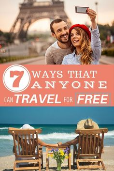 7 Ways That Anyone Can Travel for Free Free Travel, Travel Deals, Budget Travel, Travel Usa, Travel Guides, Travel Destinations, Travel 2017, Cheap Travel, Travel Advice