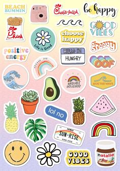 VSCO Light Pink Blue Yellow Funny Stickers for Girls for Bottle Phone Case . - VSCO light pink blue yellow Funny stickers for girls for bottle cell phone case … – nice pictur - Tumblr Stickers, Phone Stickers, Funny Stickers, Diy Stickers, Planner Stickers, Sticker Ideas, Free Printable Stickers, Cute Laptop Stickers, Happy Stickers