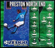 Zeugo subbuteo teams Preston North End