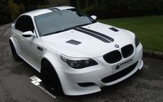 Prior Design E60 M5 Widebody - HOT or NOT - Bimmerfest - BMW Forums Bmw M5 E60, Bmw 320d, Car Camper, Campers, Bmw Performance, Sports Wagon, Bmw Love, Bmw 5 Series, Custom Cars
