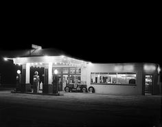 Texaco Filling Station 1947 by State Archives of North Carolina, via Flickr