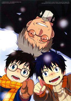 Blue Exorcist    Shiro Fujimoto, Rin & Yukio #anime