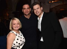 Lauren Potter, Mark Salling and Chord Overstreet