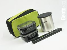 Tiger Slim & Compact bento lunch box set