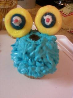 Monster Cupcake Monster Cupcakes, Cupcake Cakes, Weird, Desserts, Food, Outlander, Postres, Deserts, Cup Cakes