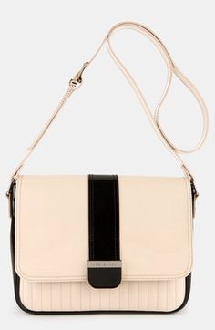 Ted Baker London Enamel - Large Colorblock Quilted Faux Leather Crossbody Bag | Nordstrom