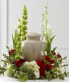 Tears Of Comfort Urn Arrangement Like Walking Through A Garden BEAUTIFUL !!!!!!!