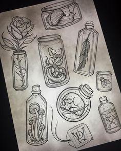 Tattoo Sketches, Tattoo Drawings, Drawing Sketches, Pencil Drawings, Art Drawings, Creepy Drawings, Skull Tatto, Desenho Tattoo, Flash Art