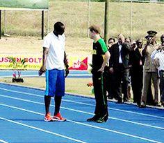 Prince Harry trolling Usain Bolt   http://ift.tt/2bITjxJ via /r/funny http://ift.tt/2buP0Fk  funny pictures