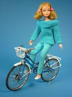 BARBIE GIRLS Vélo Miroir Rose