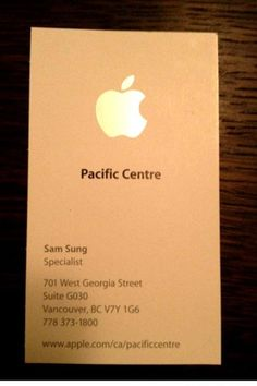 Worst name for an Apple employee !