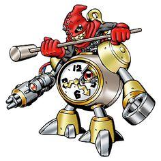 Clockmon - Champion level Machine digimon
