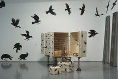 Studio Makkink & Bey's Birdwatch Cabinet