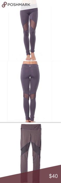 NWT Electric Yoga V-Line Mesh Legging Electric Yoga V-Line Mesh Legging. New with tags. Electric Yoga Pants Leggings