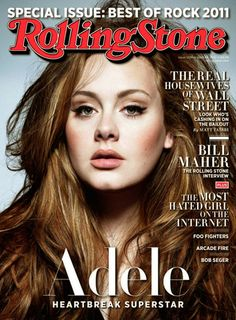 Adele-her music is healing.    She so easily puts into words and music what is difficult to say (or even process) for others.
