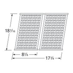 heavy duty bbq parts 5s472 stamped stainless steel cooking grid for char broil brand gas - Char Broil Gas Grill Parts