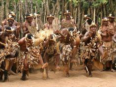 Африканские танцы - сплошная импровизация