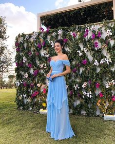New Ideas for wedding guest outfit summer formal night Quince Dresses, Prom Dresses Blue, Prom Party Dresses, Quinceanera Dresses, Bridesmaid Dresses, Summer Dresses, Wedding Dresses, Dress Party, Outfit Summer