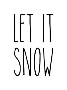 Let It Snow - Rae Dunn Inspired Vinyl Sticker - Winter Christmas Home Decor Farmhouse Style - Die Cu Christmas Svg, Christmas Shirts, Christmas Stuff, Winter Christmas, Xmas, Let It Snow, Let It Be, Contemporary Mailboxes, Ray Dunn