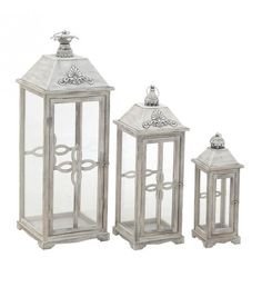 S_3 WOODEN LANTERN IN NATURAL_WHITE COLOR 30_5X30_5X85_5