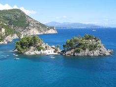 The bay of Parga..