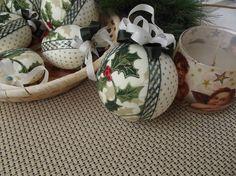 Vianoce - vianočné gule v zelenej - 4550720_
