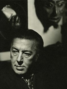 André Breton - Photographed by Paul Facchetti, 1950 -