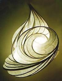Light Sculpture - Lunar Wind by William Leslie