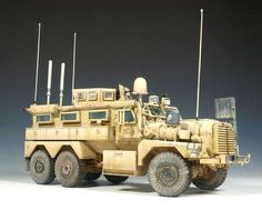 Cougar MRAP 6x6   1:35 scale
