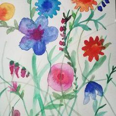 Flowers di LIVEALITTLEff su Etsy