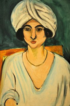 Henri Matisse - Woman in Turban (Lorette) at Baltimore Art Museum | by mbell1975