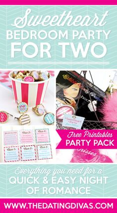 Sweetheart Bedroom Party Pack Date Night
