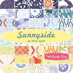Sunnyside Jelly Roll Kate Spain for Moda Fabrics - Fat Quarter Shop