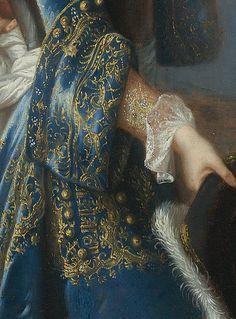 Portrait de Louis Alexandre de Bourbon, légitimé de France, comte de Toulouse by François de Troy, date unknown (detail)