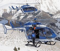 Helicópteros de la Gendarmería de Francia
