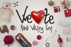 Ze Typeface   Extras Fonts Ze Typeface is a small cosy family including 4 unique fonts. This hand-written font works well for c by Pere Esquerr¨¤
