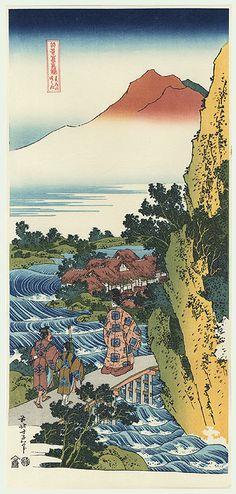 Harumichi no Tsuraki by Hokusai (1760 - 1849)