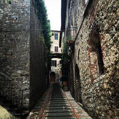 Todi do meu ❤️! Mesmo cinza enche meus olhos... #soumuitofelizaqui #apegada #minhavidaitaliana #welcometoTodi #Todi #umbria #Italia #toditiamo