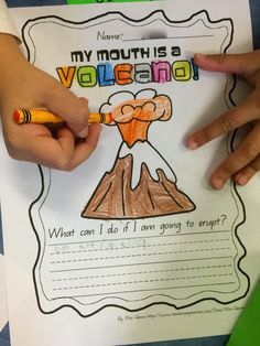 Ms. Sepp's Counselor Corner: My Mouth is a Volcano