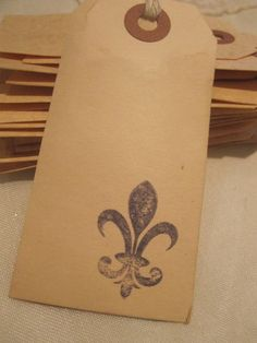 Distressed Gift Tags / French / PARIS Inspired / by TeatroRosso, $4.99
