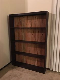 DIY DVD shelf made by my Love
