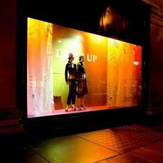 Selfridges Dress Up Windows.        #windows #retail #design #display