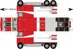 Paper Semi-Trucks | Papercraft Truck Related Keywords - Papercraft Truck Long Tail ...