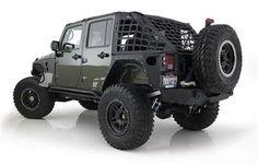 Smittybilt Part 581035 - Jeep JK Wrangler 4-Door Cargo Restraint System (CRES)-WS1