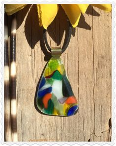 The Bohemian Spirit Rainbow Glass, Spirit, Bohemian, Pendant Necklace, Pendants, Jewelry, Jewellery Making, Jewlery, Jewelery