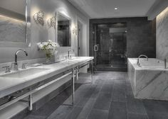 Project Two - Contemporary - Bathroom - houston - by Carl Mayfield Architectural Photographer