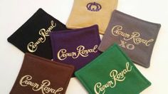 Check out this item in my Etsy shop https://www.etsy.com/listing/221774249/ultimate-crown-royal-coaster-set-set-of