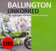 Ballington Unkorked, Hardcover 2002.  Book Autographed by Kork Ballington.   Price £125
